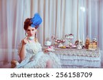 indoors shot in the marie... | Shutterstock . vector #256158709