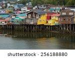 castro  chile   january 16 ... | Shutterstock . vector #256188880