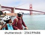 Golden Gate Bridge   Biking...
