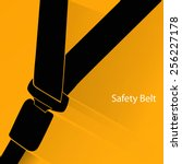 safety belt concept | Shutterstock .eps vector #256227178