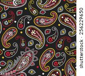 paisley pattern | Shutterstock . vector #256229650