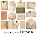 Used Paper Sheets. Vintage...