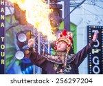 las vegas   feb 21   chinese... | Shutterstock . vector #256297204