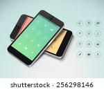 creative smartphone screen...
