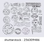 Vector Retro Postage Stamp On...