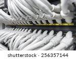 network gigabit smart switch...   Shutterstock . vector #256357144