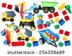 Only Plastic Toys Background