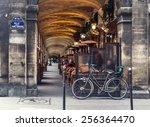 paris  france   november 18 ... | Shutterstock . vector #256364470