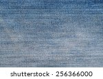 jeans texture or background. | Shutterstock . vector #256366000