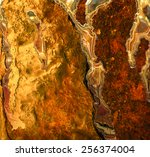Oxidized Metal Surface. Iron...