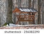 Feeder For Wild Animals In The...