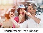 Portrait Of A Smiling Couple...