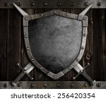 Medieval Knight Shield And...
