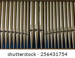 Detail Organ Pipe Tubes In A...