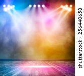 background in show. vector... | Shutterstock .eps vector #256440658