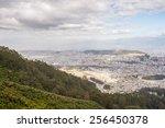 view of the quito  ecuador ...   Shutterstock . vector #256450378