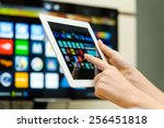 smart tv | Shutterstock . vector #256451818