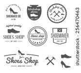 set of vintage logo  badge ... | Shutterstock .eps vector #256470463
