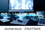 future office concept.... | Shutterstock . vector #256473604
