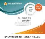 stylish presentation of... | Shutterstock .eps vector #256475188