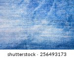 the jeans for background | Shutterstock . vector #256493173