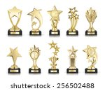 photos collection of stars... | Shutterstock . vector #256502488