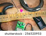 Electric Guitar Equipment And...