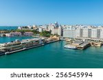 Port of San Juan, Puerto Rico - stock photo