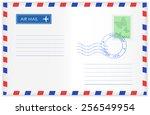 Envelope   Isolated  On White...