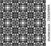pattern seamless design vector... | Shutterstock .eps vector #256569844