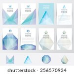 premium set collection of... | Shutterstock .eps vector #256570924