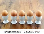 Five Egg Cups With Natural...
