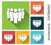 business management  strategy... | Shutterstock .eps vector #256586860