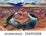 Horseshoe Bend  Colorado River...