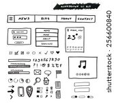 hand drawn ui kit. original...