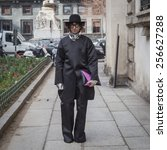 milan  italy   february 26 ... | Shutterstock . vector #256627288