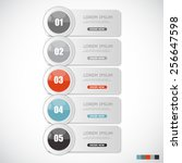 infographic templates for...   Shutterstock .eps vector #256647598