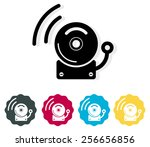 alarm icon   illustration | Shutterstock .eps vector #256656856