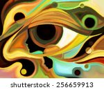 design on the subject of... | Shutterstock . vector #256659913