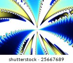 an artistic colored fantasy... | Shutterstock . vector #25667689