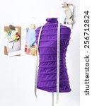 mannequin in office | Shutterstock . vector #256712824