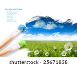 Painting Summer Landscape With...