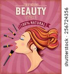 Vintage Beauty Poster Design