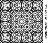 pattern seamless design vector... | Shutterstock .eps vector #256725466
