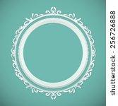 round frame  design element | Shutterstock .eps vector #256726888