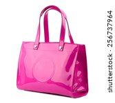 Bright Violet Glossy Handbag...