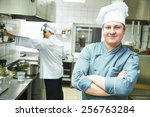 Portrait Of Male Cook Chef At...