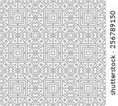 pattern seamless design vector... | Shutterstock .eps vector #256789150