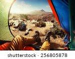 sport.travelling.tourist | Shutterstock . vector #256805878
