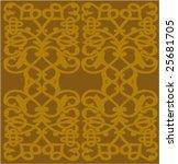 ornate pattern | Shutterstock .eps vector #25681705